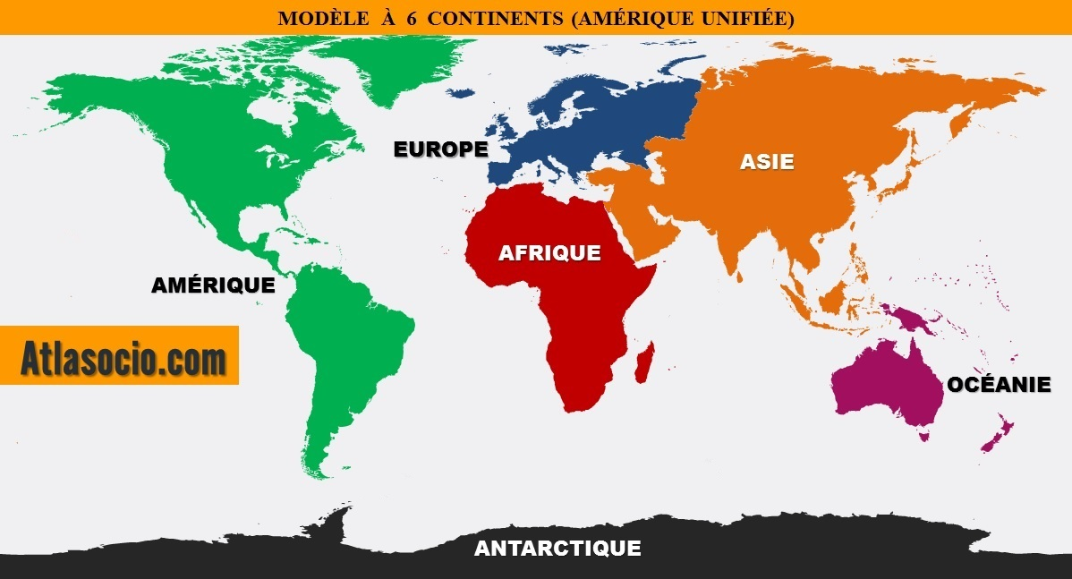 carte-mondial-des-continents - Photos