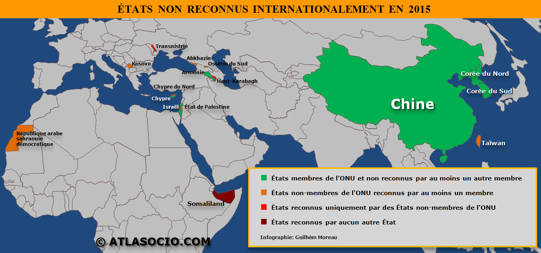 Carte Du Monde Etats Non Reconnus Internationalement Atlasocio Com